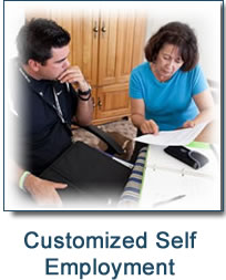 Button - Customized Self-Employment Sample